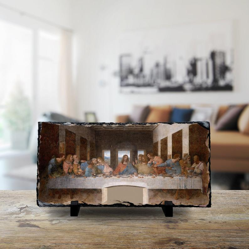 Leonardo da Vinci: The Last Supper cmzart 15 x 30 cm
