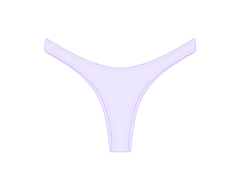 Lavender Chic 80's Bottoms