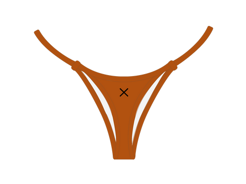 Burnt Orange Minimal Bottoms