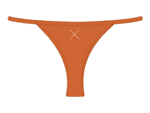 Burnt Orange Adjustable Bottoms