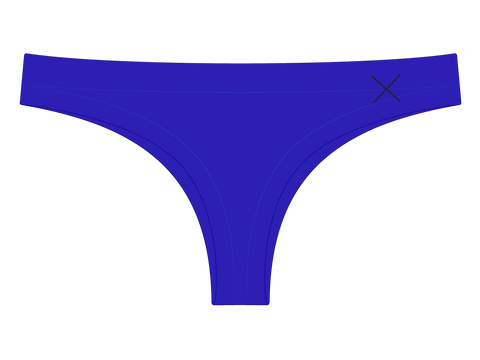 Malibu Blue Seamless Panties