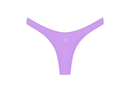Lilac Chic 80's Bottoms