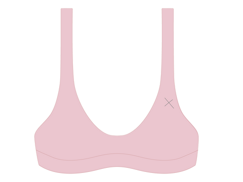 Dirty Pink Yogi Top