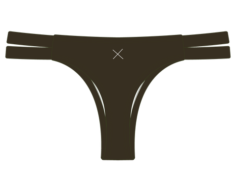 Forest Green Dual Strap Bottom II
