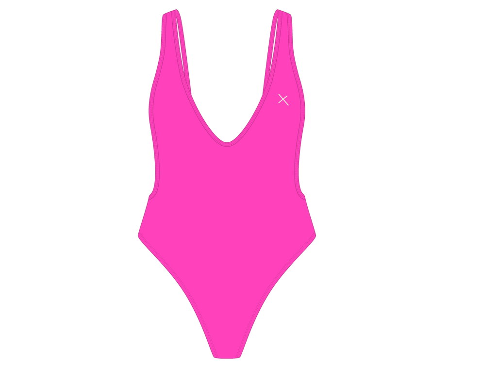 Hot Pink Rio One-Piece II