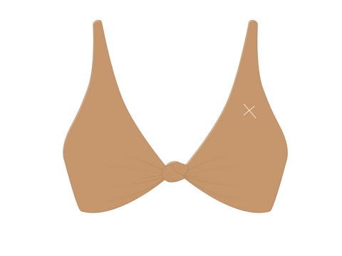 Laos Tan Twist Top