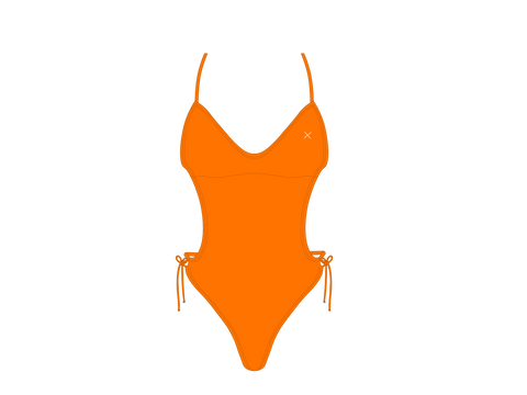 Wild Orange Ringer One Piece