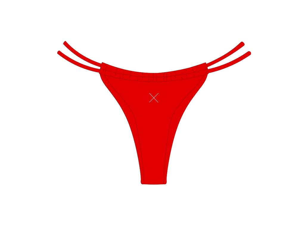 Rose Red Tropic Bottoms