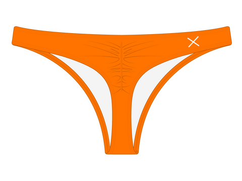 Wild Orange Classic Scrunch Bottoms