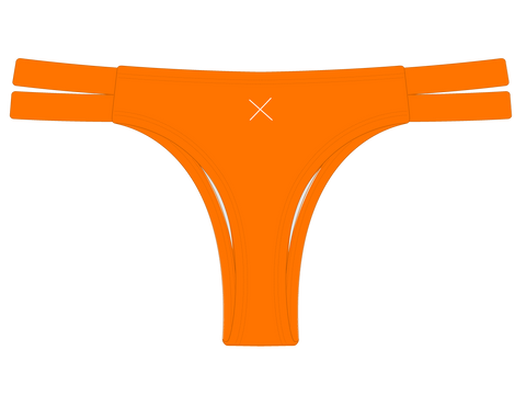 Wild Orange Dual Strap Bottom II