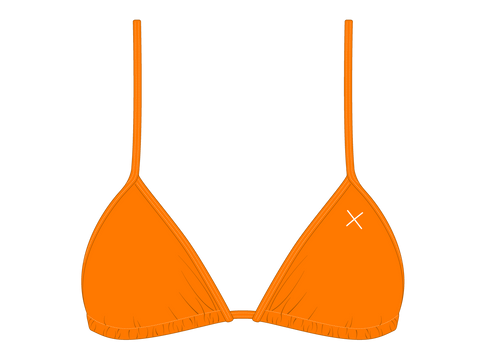Wild Orange Bikini Top II