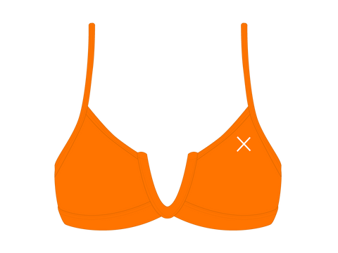 Wild Orange V-Cut Top