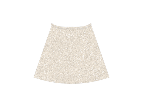 Crystal Shimmer Wrap Skirt
