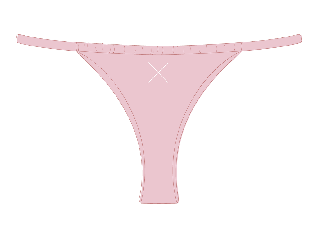 Dirty Pink Adjustable Bottoms