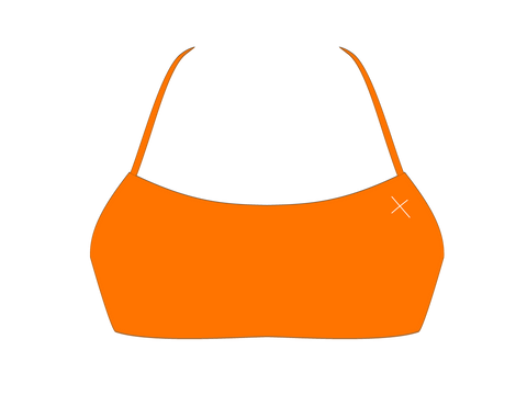 Wild Orange Halter Top