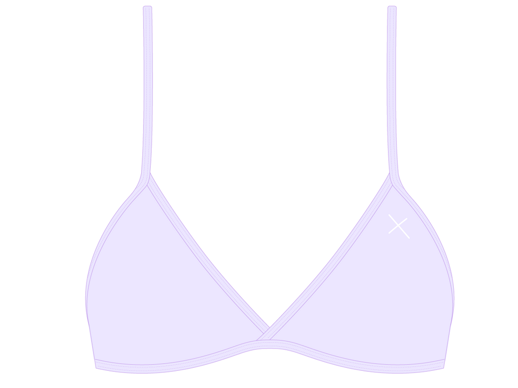Lavender Fitted Top II