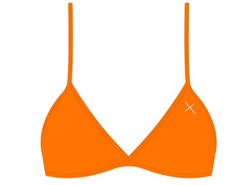 Wild Orange Fitted Top II