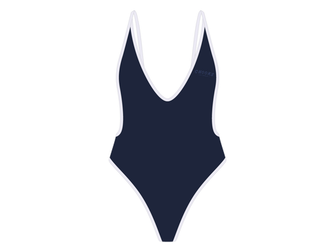 Captain Blue Retro One-Piece