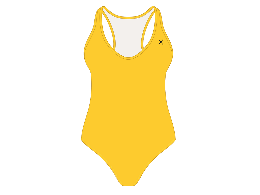 Lily Yellow Cayman One-Piece