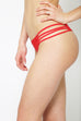 Rose Red Classic Strap Bottoms