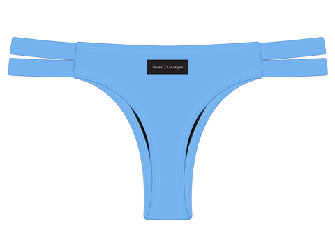 Sky Blue Dual Strap Bottom