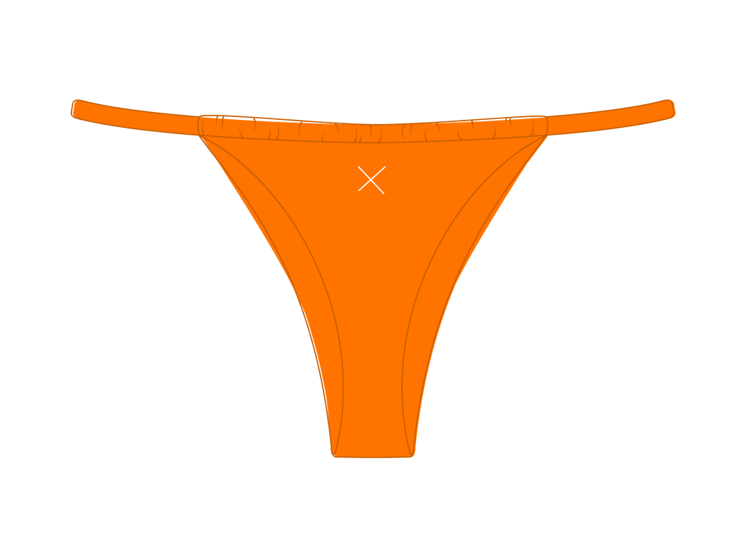 Wild Orange Adjustable Bottoms