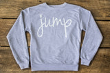 """Jump"" Drop-shoulder Crewneck"