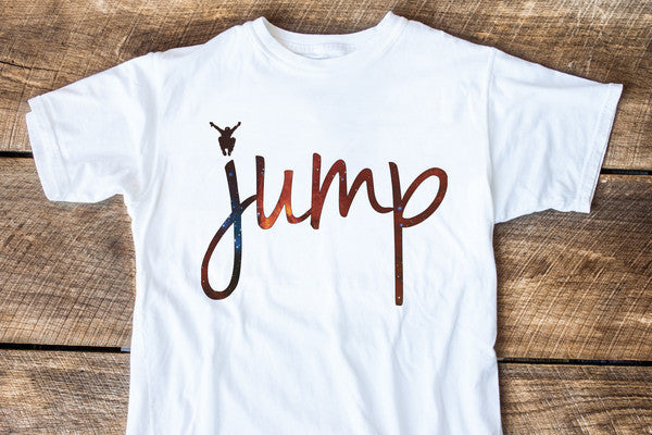 JUMP Space Graphic Tee