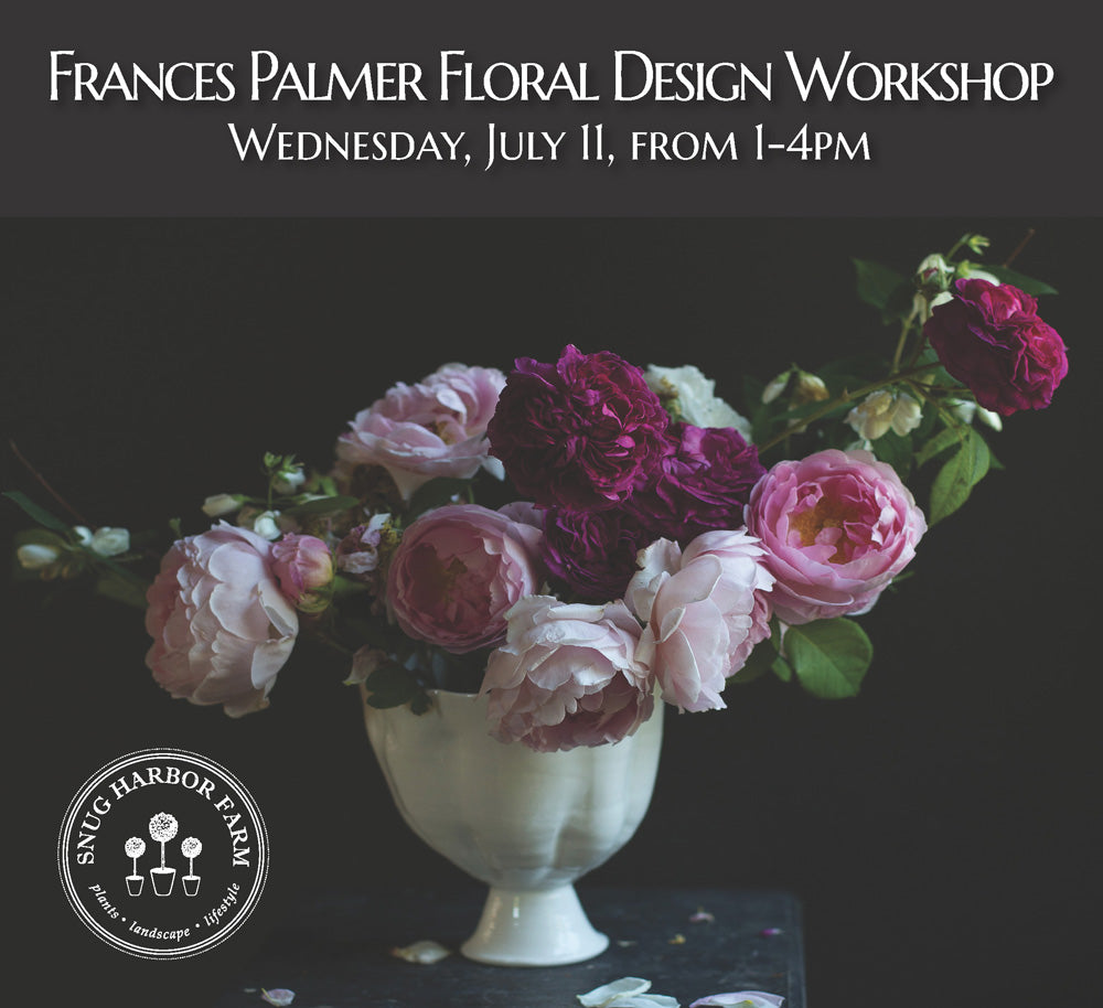 Frances Palmer Floral Design Workshop