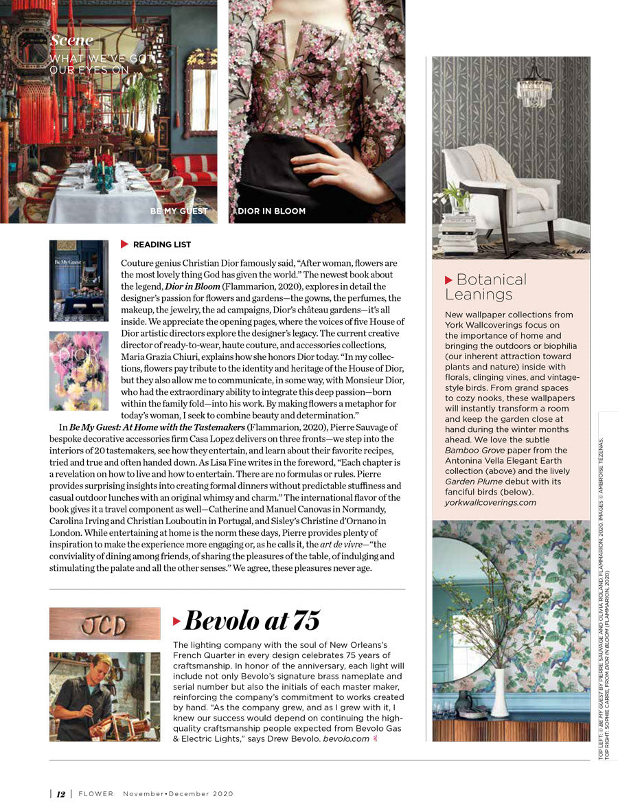 Flowers Magazine November/December 2020 Page 2