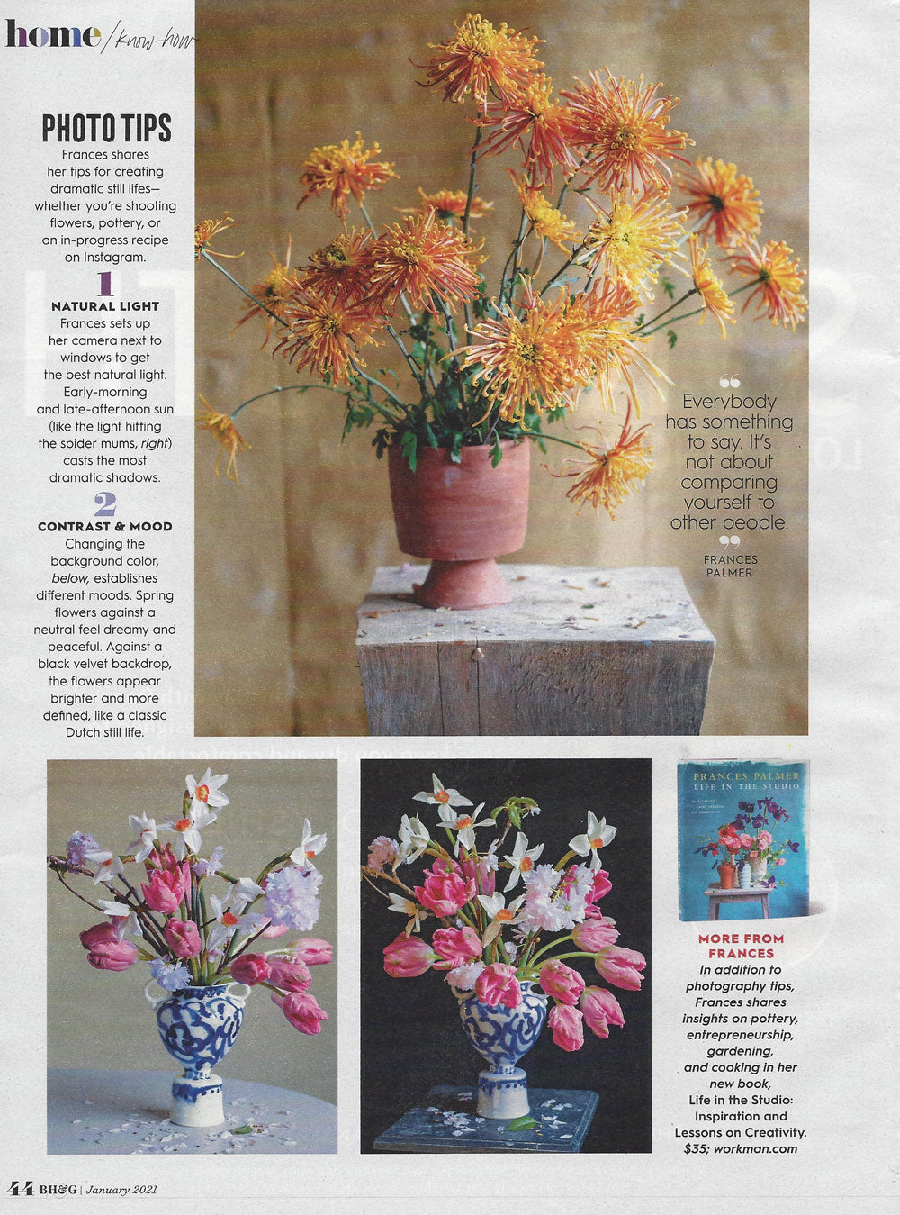 Better Homes & Gardens January 2021 page 2