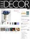 Elle Decor Blog November 2011