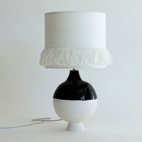 Black & White Lamp