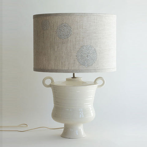 White Cycladic Lamp
