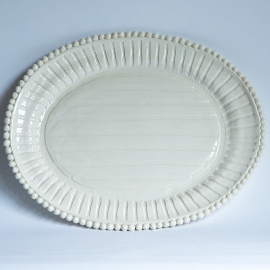Platter with Stripes