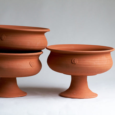 No. Six Terra Cotta Urn (each sold separately)