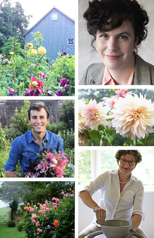 Dahlia Workshop with Emily Thompson, Charlie McCormick and Frances Palmer