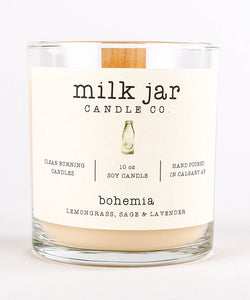 Milk Jar Candle - Bohemia
