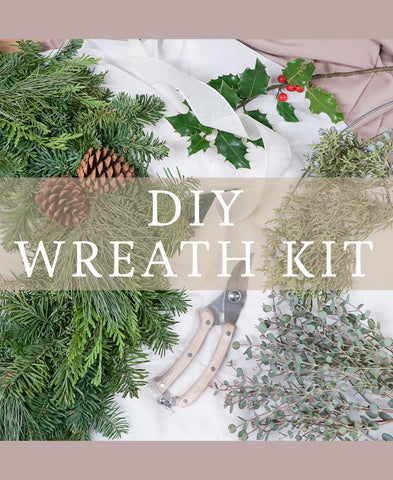 DIY Holiday Wreath Kit