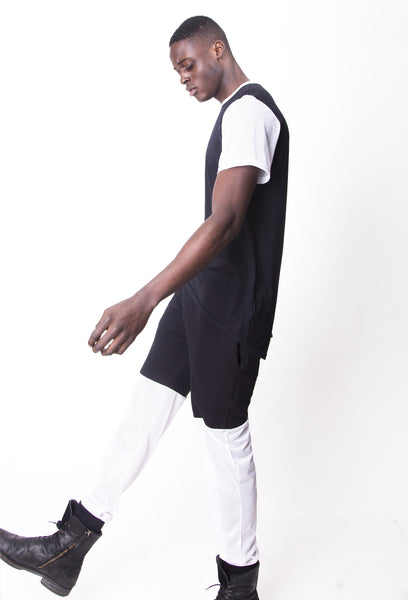 FW14 Long T w/ Mesh Short Sleeves