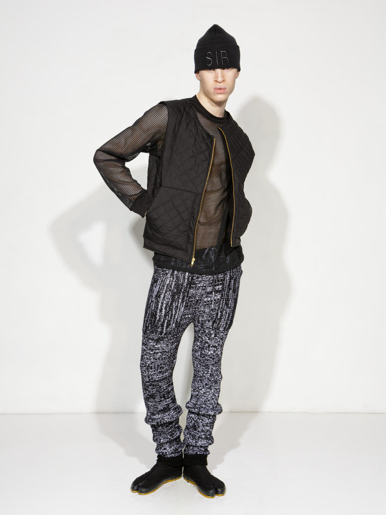 Varigated Knit Trousers