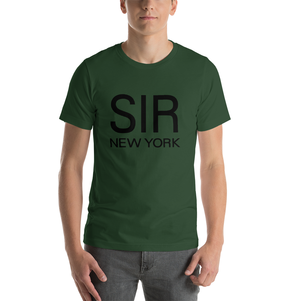 SIR - SHORT SLEEVE T - SHIRTS - DADDY GREEN