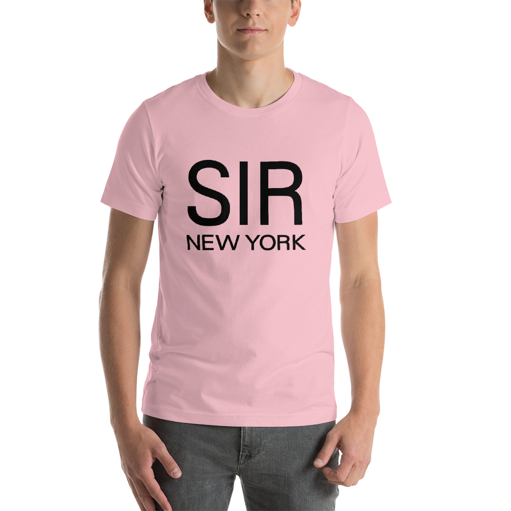 SIR - SHORT SLEEVE T - SHIRTS - BLACK