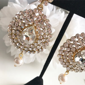 Victoria Gold Drop Earrings