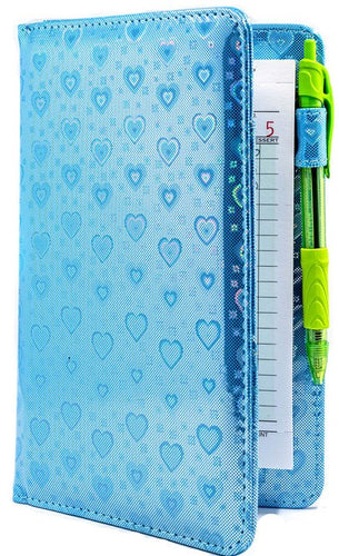Blue Metallic Hearts Server Books