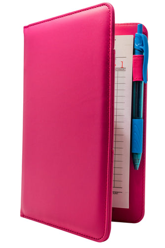 Pink Server Books - Hot Pink Order Pad Holder for Waitresses