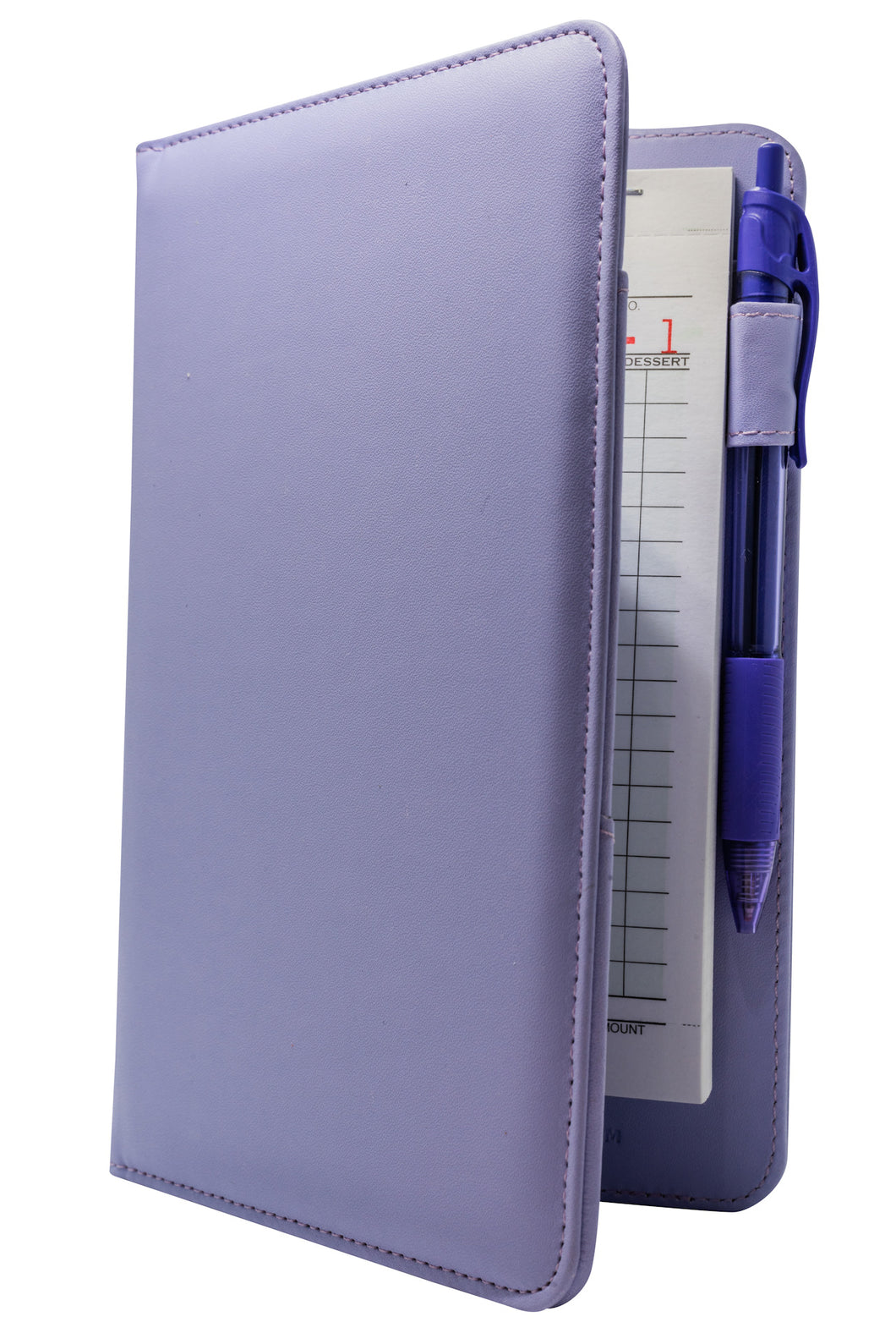 Light Purple Server Book with Purple Pen for Servers