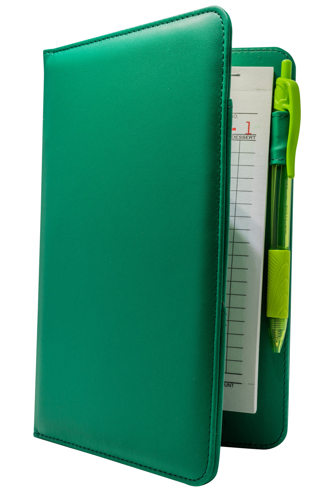 Irish Green Server Book for Waitresses on St. Patrick's Day