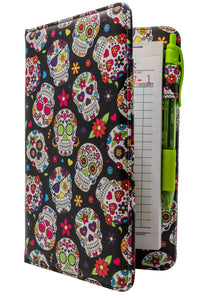Sugar Skulls SERVER BOOK for waitresses