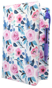 "SERVER BOOK™ Patterns 8"" x 5"" Server Organizer - Watercolor Flowers"